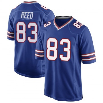 Men's Andre Reed Buffalo Bills Game Royal Blue Team Color Jersey