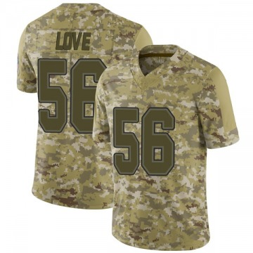 Men's Mike Love Buffalo Bills Limited Camo 2018 Salute to Service Jersey