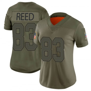 Women's Andre Reed Buffalo Bills Limited Camo 2019 Salute to Service Jersey