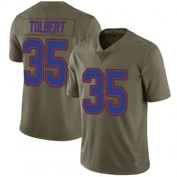 Youth Mike Tolbert Buffalo Bills Limited Green 2017 Salute to Service Jersey